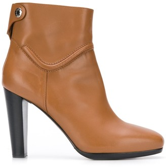 Hermes Pre-Owned High-Heel Ankle Boots