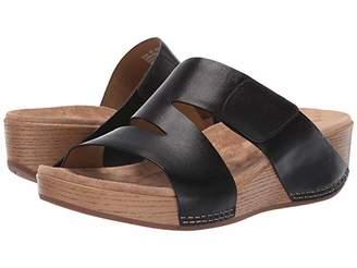 Dansko Lacee (Black Burnished Calf) Women's Sandals