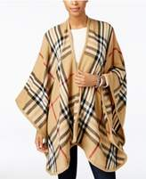 Charter Club Exploded Plaid Poncho, Created for Macy's