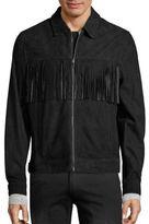 Ovadia & Sons Suede Fringe Jacket