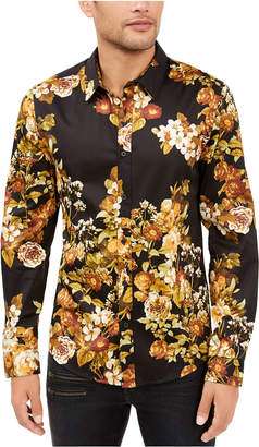 GUESS Men Luxe Lost Angels Floral Shirt