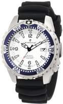 Momentum Men's 1M-DV06W1B M1 Deep 6 Blue Bezel Polyurethane Dive Watch