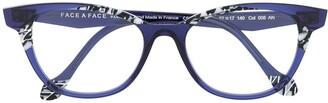 Face à Face Cat-Eye Frame Glasses