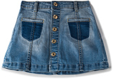7 For All Mankind Kids Denim Skirt