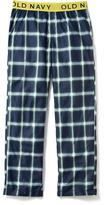 Old Navy Plaid Sleep Pants for Boys