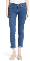 IRO Women's Jarod Crop Frayed Hem Skinny Jeans