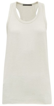 Haider Ackermann Scoop-neckline Knitted Tank Top - Cream