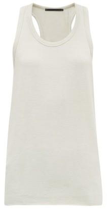 Haider Ackermann Scoop-neckline Knitted Tank Top - Womens - Cream