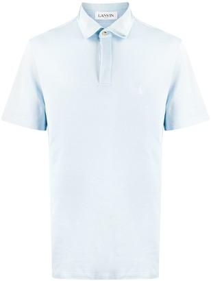 Lanvin Pique Polo Shirt