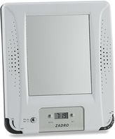 Bed Bath & Beyond AM/FM Shower Radio with Fog Free Mirror and Digital Clock