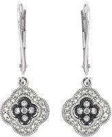 AX Jewelry Ladies 1/4cttw SilverMist Diamond Earrings in Sterling Silver