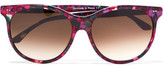Thierry Lasry Screamy Square-Frame Acetate Sunglasses