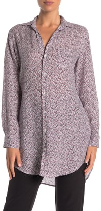 Frank And Eileen Mary Linen Long Sleeve Button Front Shirt