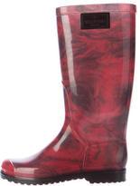 Valentino Floral Rain Boots