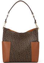 Calvin Klein Hudson Monogram Hobo Bag