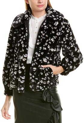 Rebecca Taylor Cheetah Coat