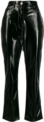MSGM Straight-Leg Trousers