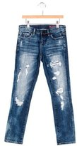 Blank NYC Girls' Distressed Skinny Jeans