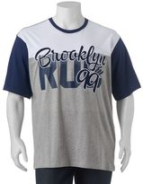 "Rocawear Big & Tall Colorblock ""Brooklyn 99"" Tee"