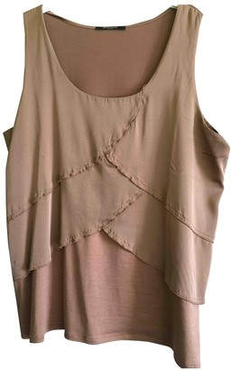 Bruuns Bazaar Camel Silk Top for Women