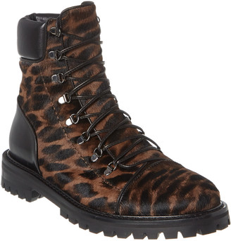 Alaia Haircalf & Leather Boot