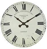 Roger Lascelles Greenwich Wall Clock, Dia.70cm, Cream