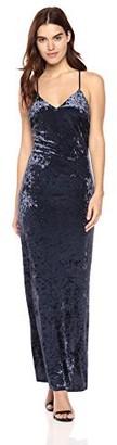 Sugar Lips Sugarlips Women's Rowena Velvet Maxi Dress