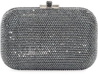 Judith Leiber Crystal Slide-Lock Clutch Bag