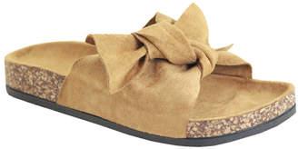 Bella Marie Women's Sandals CAMEL - Camel Knot-Accent Sandal - Women