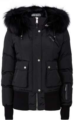 Nicole Benisti Fur-Lined Bomber Jacket