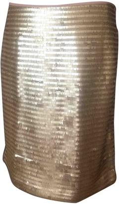 Clements Ribeiro Gold Skirt for Women