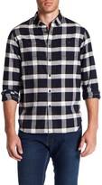Howe Mercy Plaid Long Sleeve Trim Fit Shirt