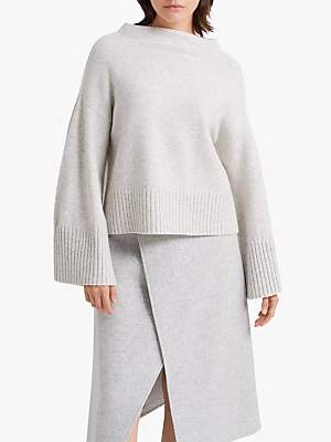 Club Monaco Bell Sleeve Jumper, Grey