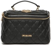 Love Moschino Quilted Toiletry Bag
