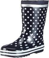 Playshoes Dots Collection Rubber Rain Boots (11.5 US Little Kid, )