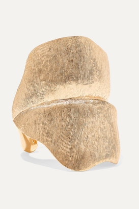 OLE LYNGGAARD COPENHAGEN Leaves Large 18-karat Gold Ring