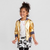 Cat & Jack Toddler Girls' Long Sleeve Jacket Cat & Jack - Gold
