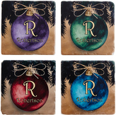 Ornament Holiday Personalized Coasters - Set of Four