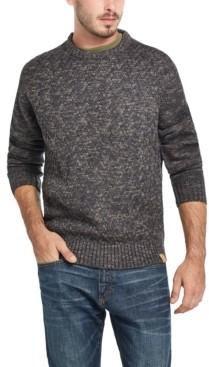 Weatherproof Vintage Men's Stitch Marl Crew Neck Sweater
