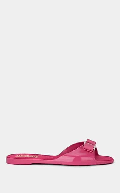 Salvatore Ferragamo Women's Cirella Rubber Slide Sandals - Pink