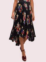 Kate Spade Rare Roses Pleated Skirt