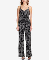 Lauren Ralph Lauren Printed Crepe Jumpsuit