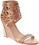 Nicole Miller Artelier Turks Leather Wedge Sandal