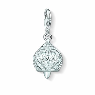 Thomas Sabo Unisex Bell 925 Sterling Silver Charm Pendant 1400-001-12