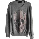 Philipp Plein Grey Cashmere Knitwear for Women