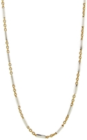 Catherine Michiels Yellow Gold Plate Chain Necklace