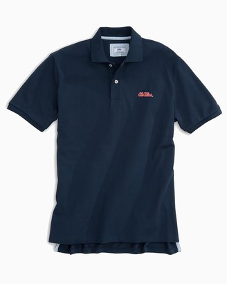 Southern Tide Ole Miss Pique Polo Shirt