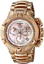 Invicta Women's 17225 Subaqua Analog Display Swiss Quartz Rose Gold Watch