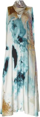 Roksanda Leesha Printed Silk Maxi Dress
