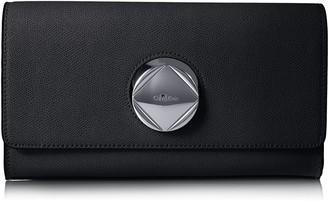 Calvin Klein Reese Mercury Structured Flap Clutch Clutch
